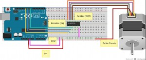 Driver L293 4 motores compatible Arduino - Complubot